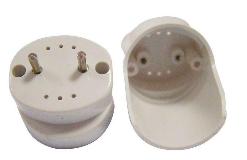 led燈管雙端接線圖-單端供電T8LED燈管(不接線端內部圖片)(兩頭是空的,沒有接線,完全懸空)