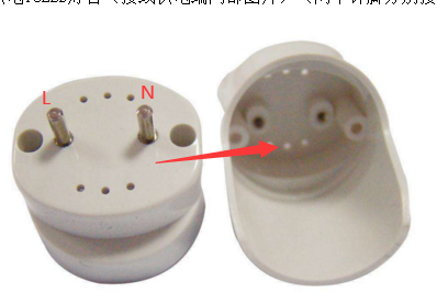 led燈管雙端接線圖-單端供電燈管用在單端供電線路示意圖