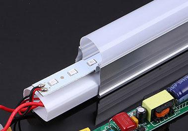 T5一體化LED日光燈支架-打膠
