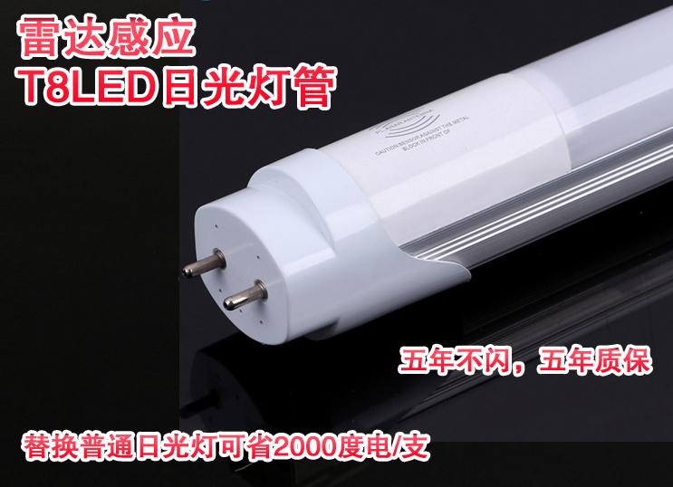 雷達感應T8LED日光燈管圖片